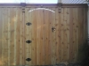 Dallas Fence Cedar Gate