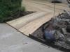Cedar deck with wheel chair ramp