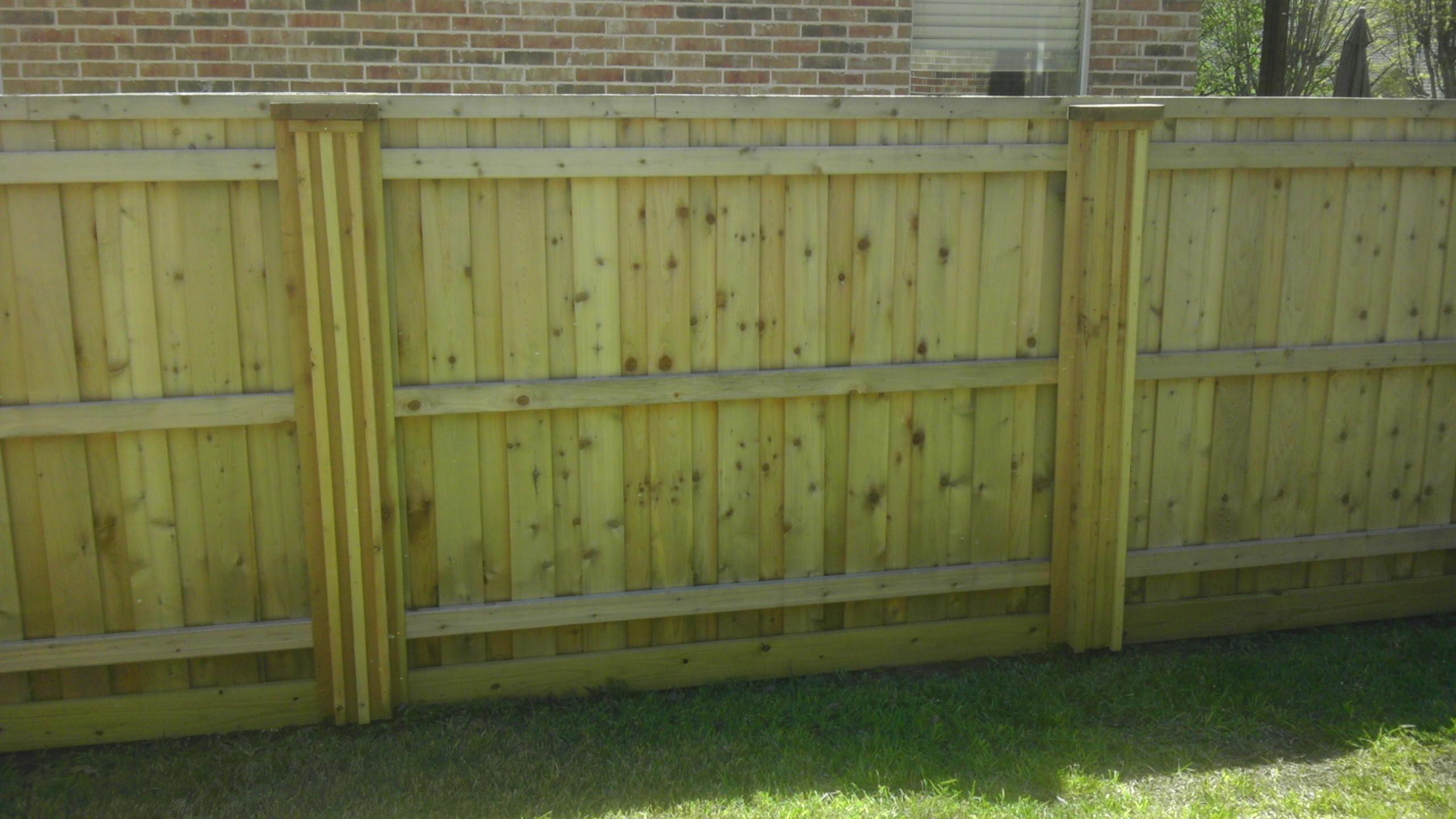 Fence Dallas Boxed Post
