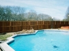 Dallas fence with pool