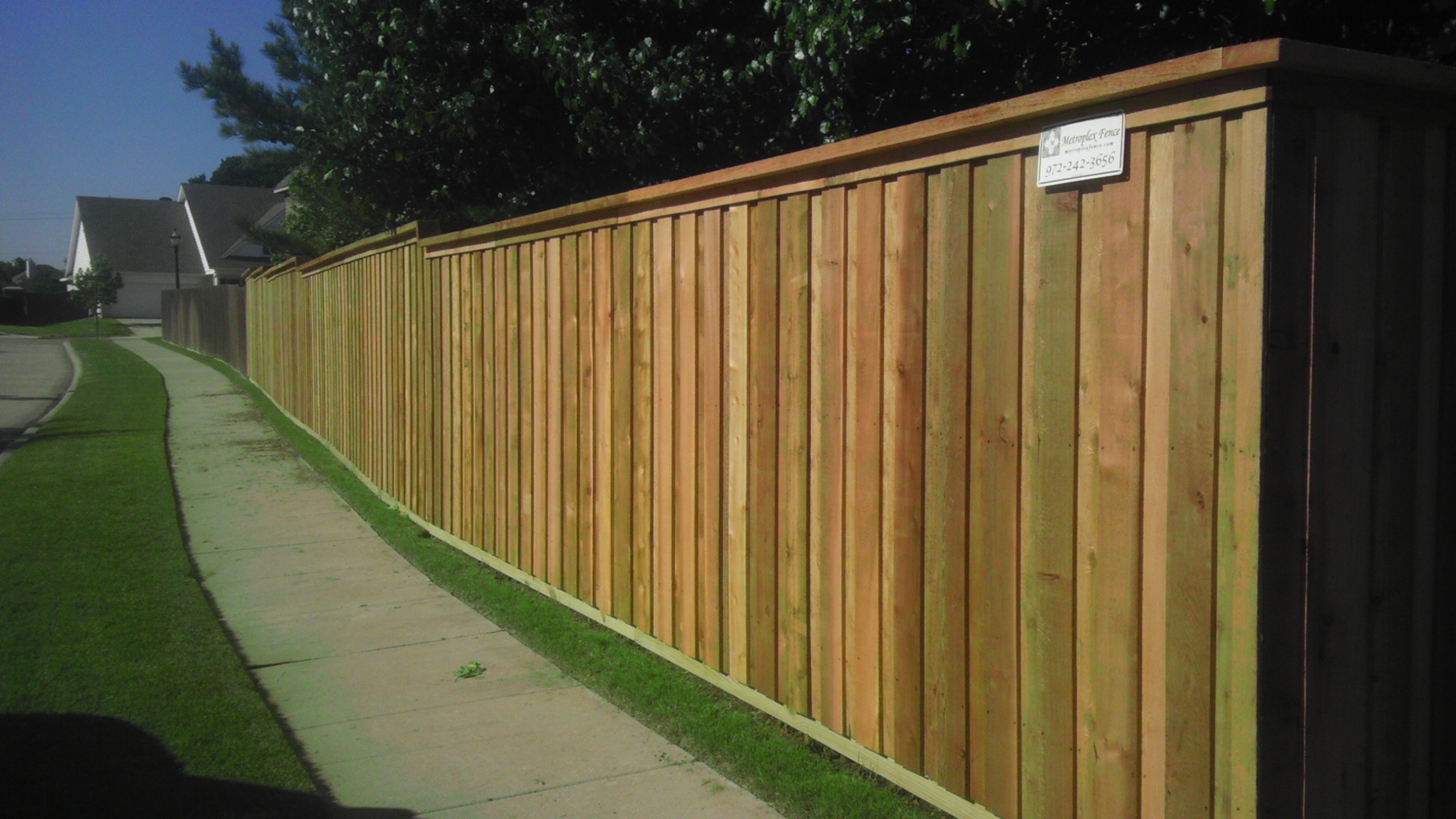 how to make a living fence